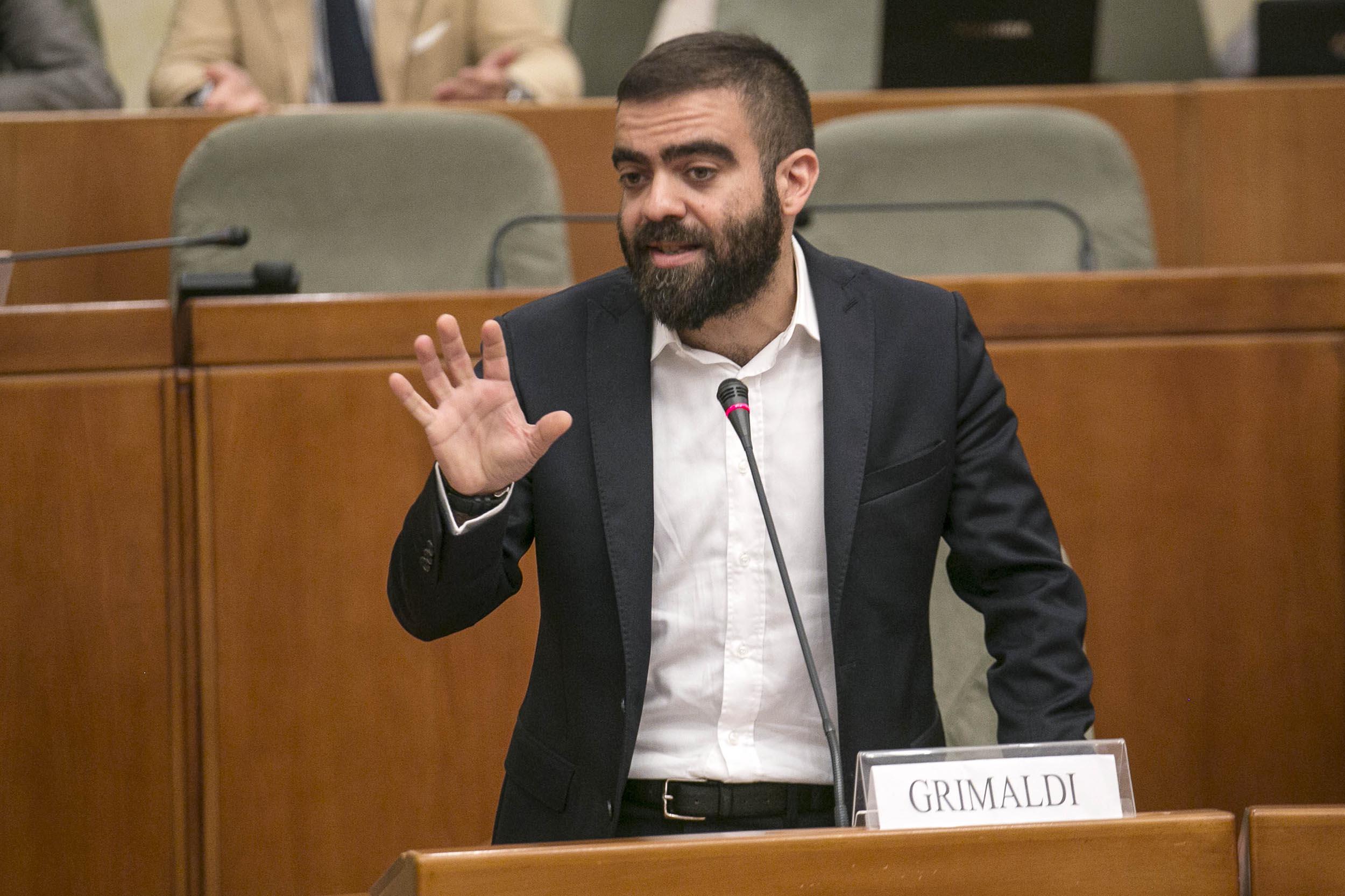 11/07/2017 Aula del Consiglio regionale - X LEGISLSTURA - Grimaldi