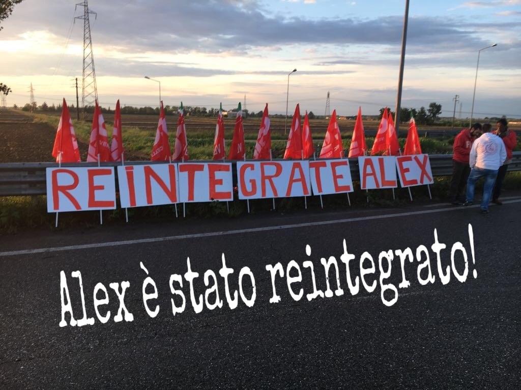 alex è stato reintegrato