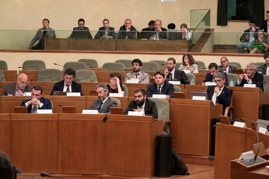 09/07/2019 seduta del Consiglio regionale